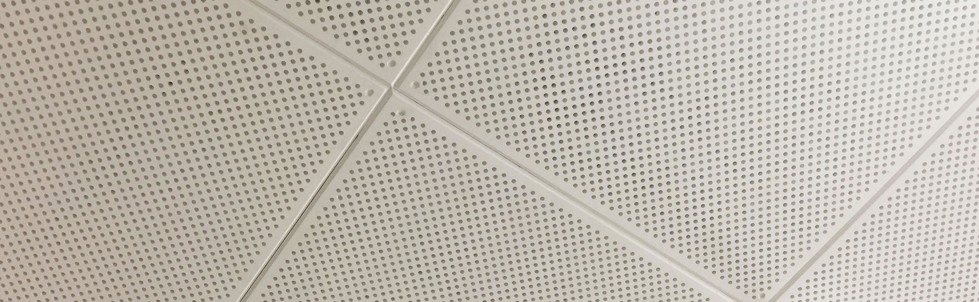EcoCheck Screw Up Acoustic Ceiling Tiles | Australian