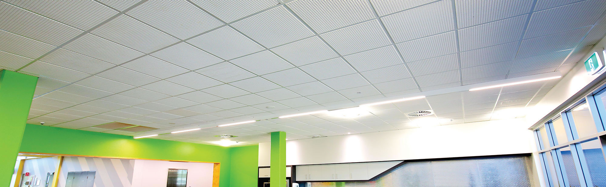 Acoustic ceiling tiles for commercial applications australian acoustic ceilings for commercial space doublecrazyfo Gallery