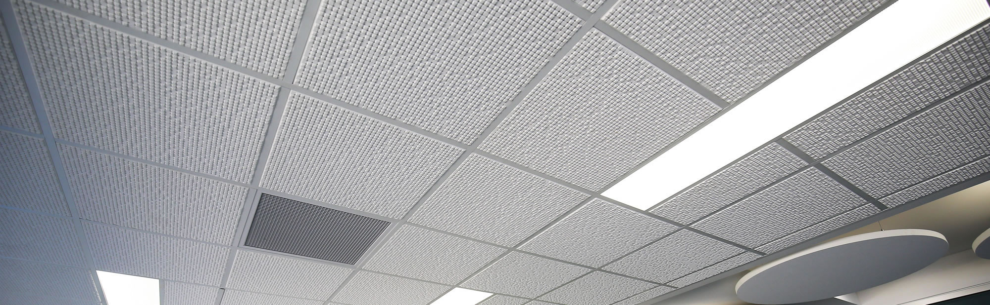 Shadex Acoustic Ceiling Tiles | Australian Plaster Acoustics