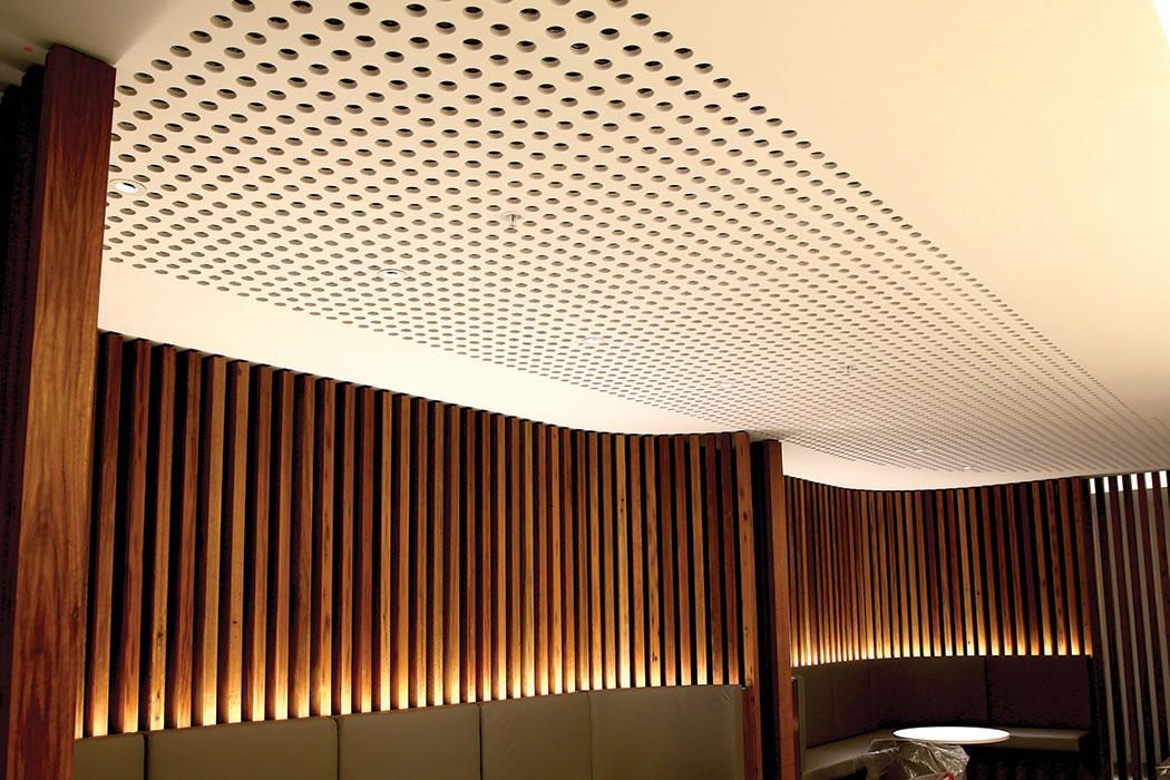 plaster acoustic panel installation. Black Bedroom Furniture Sets. Home Design Ideas