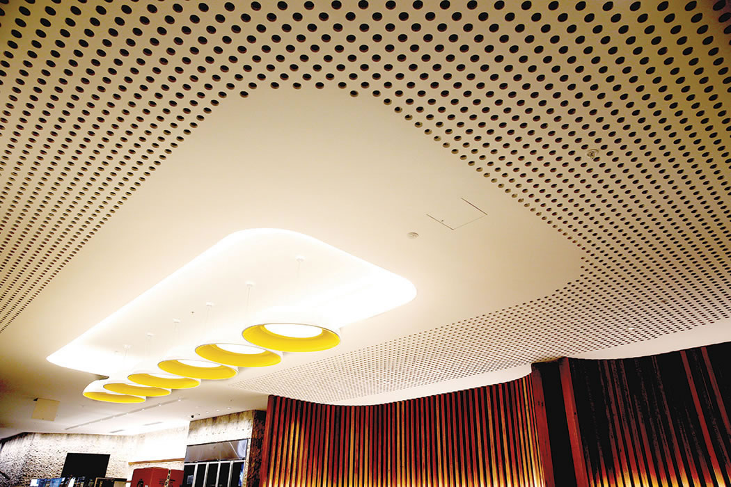 Acoustics Ceiling Panel for Stanford hotel